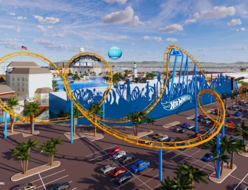First-Of-It's Kind Mattel Adventure Park to Feature Hot Wheels Roller Coaster