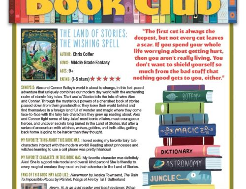 Book Club: The Land of Stories: The Wishing Spell
