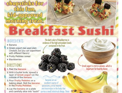 Breakfast Sushi: Grab the Chopsticks for this Fun, Kid-Approved Morning Treat