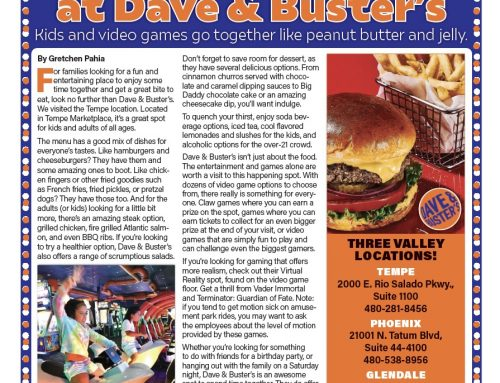 Food & Fun at Dave & Buster's