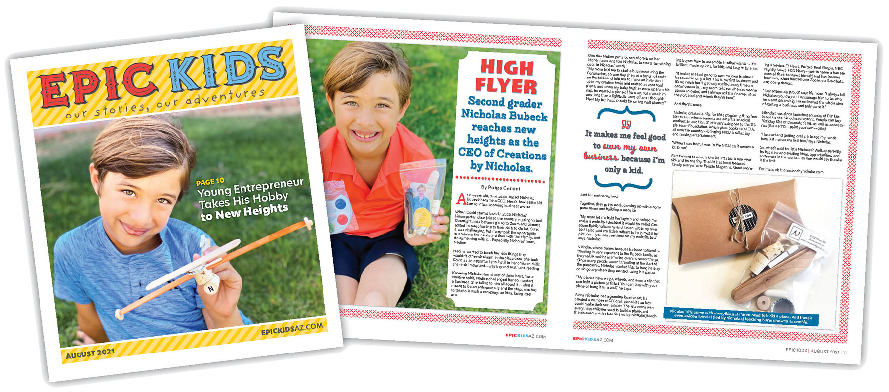 Epic Kids August 2021 Issue